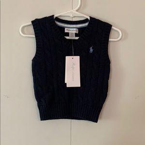 Ralph Lauren Baby Boy Sweater Vest